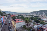 View of Oaxaca from the apartment we rented