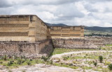 Mitla is known for the unique geometric designs incorporated into the walls of its monumental structures