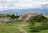 Monte Alban archaeological site outside Oaxaca, Mexico