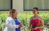 Dr. Miriam Chaiken and graduate Karina Fonseca