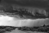 Approaching storm in BW