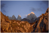 Sunrise on Mount Whitney Portal