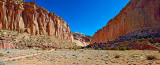 Capitol Gorge Road Pano