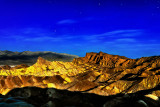 Zabriskie Point by Moonlight