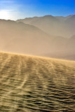 Sand Storm in the Mesquite Dunes