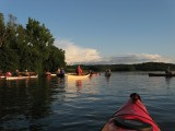 Evening Paddle on Mohawk RiverJuly 23, 2013