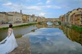 Ponte Vecchio en bruid