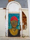 Boarded Door Art