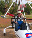 SIEM REAP - Above Angkor microlight flight