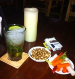 As always, first and last mojito in Bangkok are a first class mojito (mojito with sparkling wine) at El Gaucho in Soi 19.