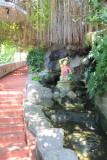 Some of the 330 plus steps to Wat Saket