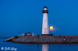 Super Full Moon over Discovery Bay Lighthouse  9