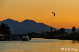 Powered Paragliding into the Sunset  2