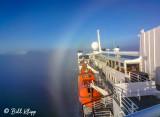 Fog Bow over National Geographic Explorer,  Disko Bay  2