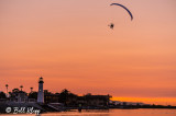 Powered Paragliding into Sunset  13