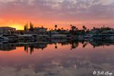 Beaver Bay Sunset Pano  1