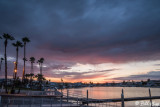 Sunset over Discovery Bay Marina  2