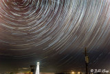 Star Trails over Lighthouse  19