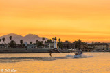 Sunset Water Skiing  2