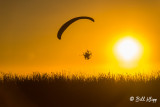Powered Paragliding Sunset  16