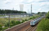 E4:an och järvägen mot Kista från Stockholmshållet