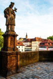 Upper Bridge with View to St.Stephans Church