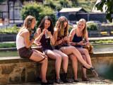 Friends with Capri Sonne