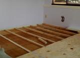 Leveling floor prior to new carpet