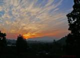 Sunrise over Mt Diablo & Del Valle