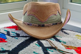 Hat Band - Bugles & Seed Beads