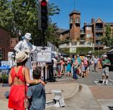 Street Performer at Lafayette Art & Wine Festival