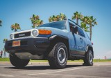 in Coronado with my FJ Cruiser