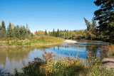 Fall On The Little Red Deer River