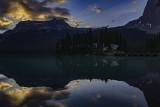 Dawn At Emerald lake Lodge