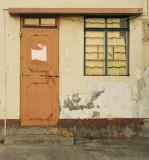 Door in Tai O, Lantau island