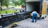 loading a big engine butt
