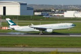 Cathay Pacific Airbus A330-300 F-WWTV / B-LBA