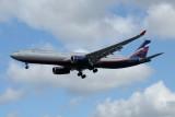Aeroflot Airbus A330-300 VQ-BPJ