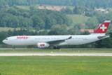 Swiss Airbus A330-300 HB-JHG old colour scheme