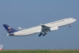 Saudia Airbus A330-300 HZ-AQJ New colours