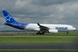 Air Transat Airbus A330-200 C-GTSI Welcome livery