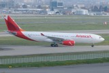 Avianca Airbus A330-200 F-WWKI New colours