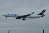 Air Europa Airbus A330-300 EC-MIO - New Air Europa titles and Skymark tail