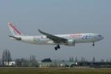 Air Europa Airbus A330-200 EC-KOM 'BeLive Hotels'
