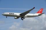 Northwest Airbus A330-200 N852NW