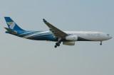 Oman Air  Airbus A3330-300 A4O-DD