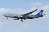 Oman Air  Airbus A330-200 A4O-DF