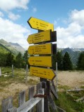 Many options for hiking
