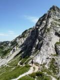 Passing a local peak