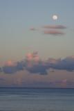Moon at nightfall